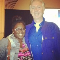 Couture Designer Philip Treacy and Style Editor Tamisha Monet